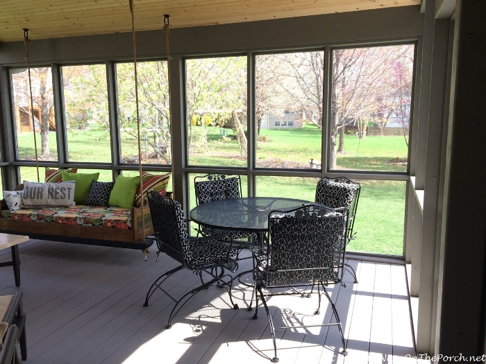 Dining Area For Screened Porch