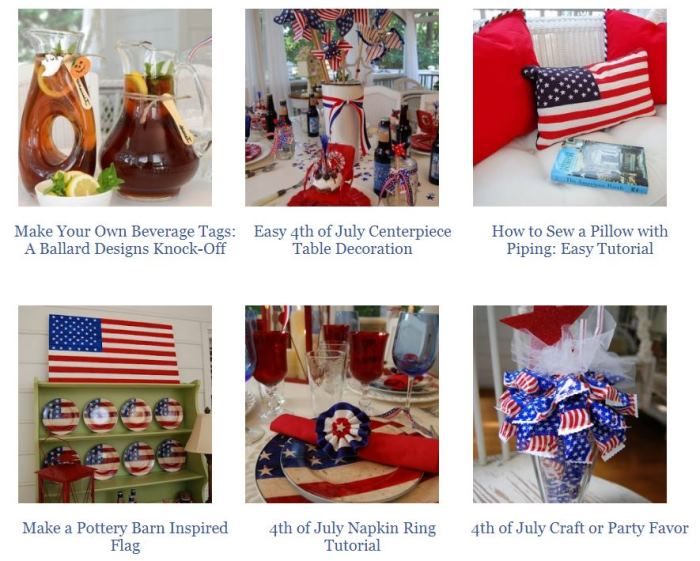 Crafts for 4th of July