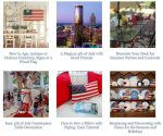 4th of July Crafts, Recipes, Table Settings and Decorating Ideas