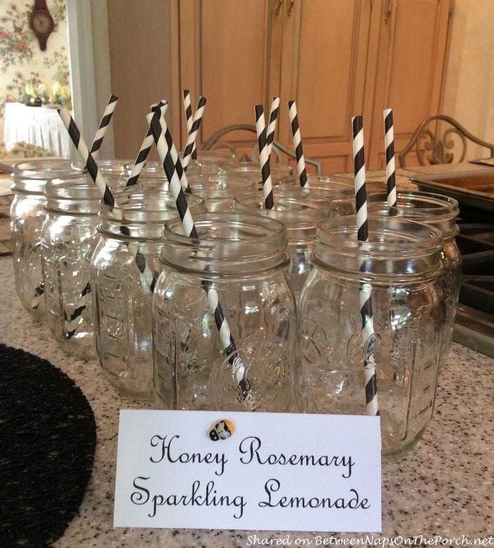 Ball Jars for Serving Lemonade