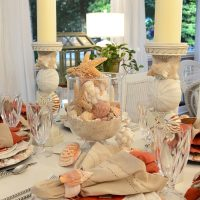 A Lobster & Crab Fest: Beach Party Table Setting