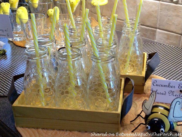 Bee Hive Glasses