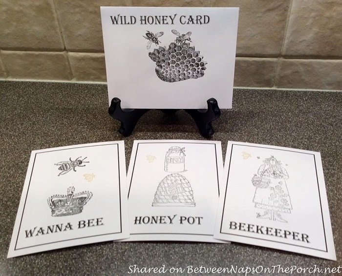 Party Games for Bee Themed Party