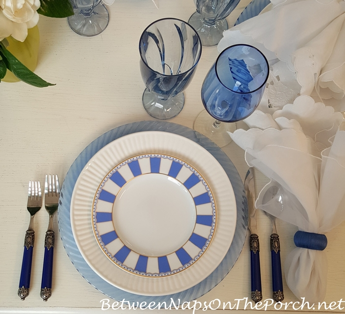 Carnivale Blue by Noritake