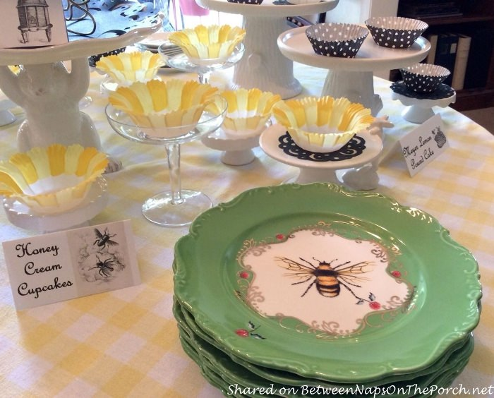 French Bee Plates from Anthropologie