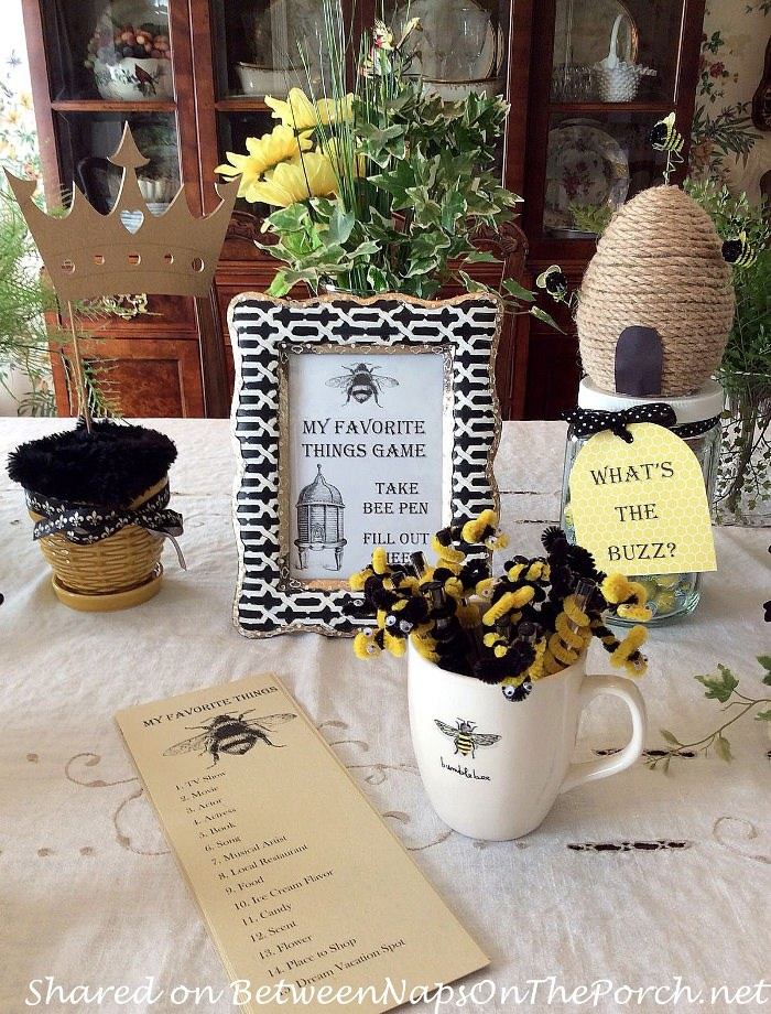 Bee-themed Party Games