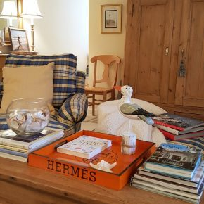 Hermes Tray for Living Room Coffee Table