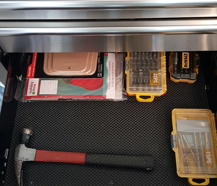 Drawer Liner for Tool Chest