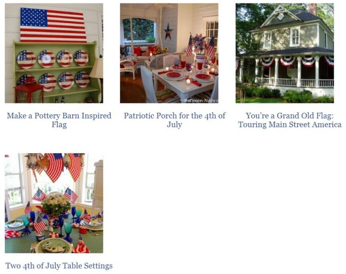 Decorate for the 4th of July
