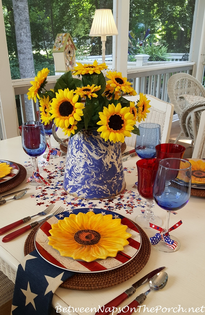 Set a Patriotic Table for the 4th of July