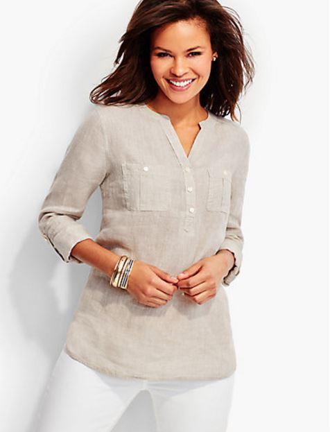 Talbots Linen Shirt