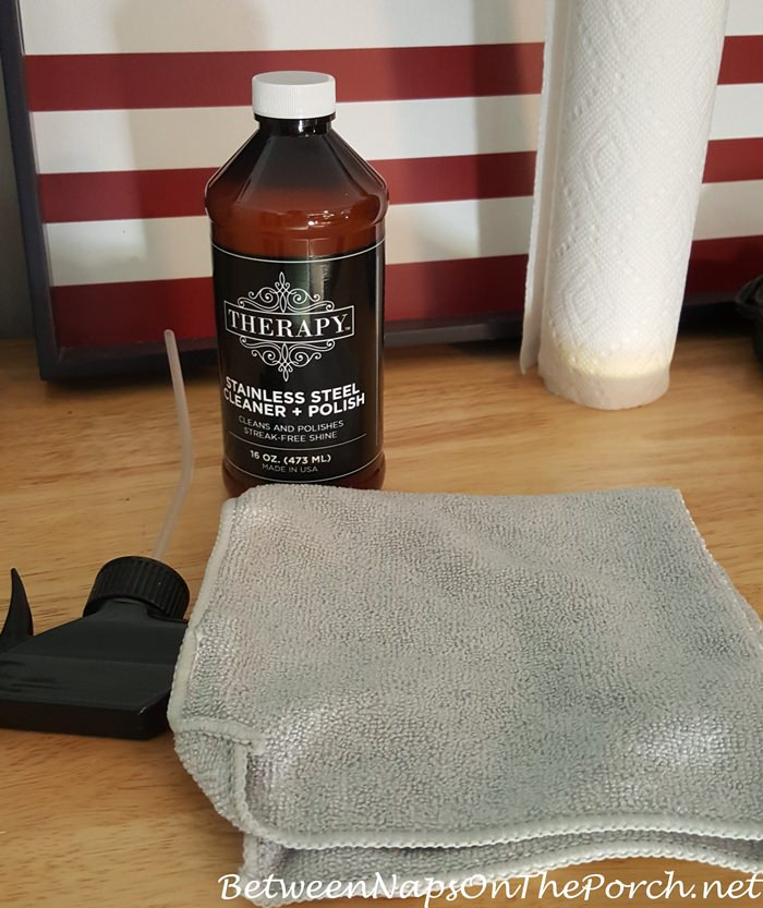 Therapy Stainless Steel Cleaner & Polish