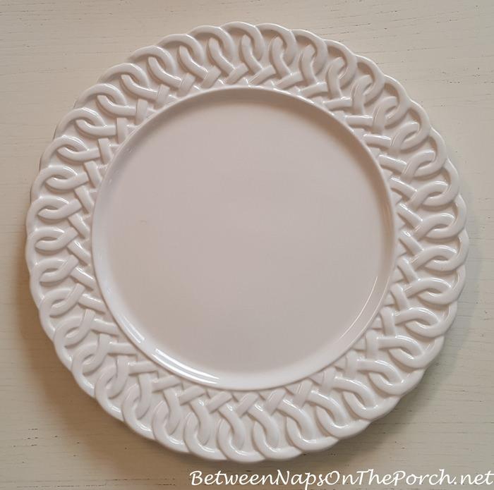 Storage Organization For Charger Plates Flatware Napkins