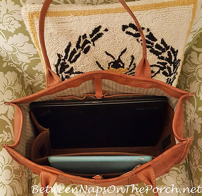 Bag Organizer Insert for Frye Campus Shopper