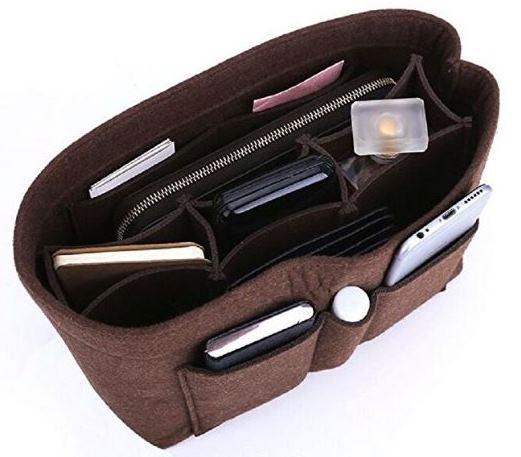 Bag Organizer, Brown