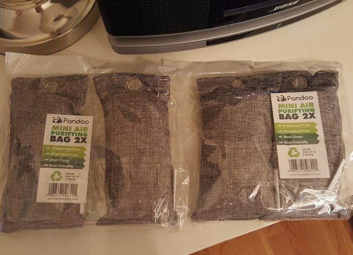 Bamboo Charcoal Bag Absorbs Moisture, Odors, Humidity