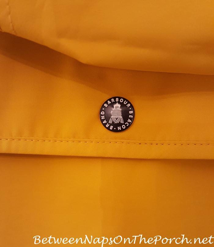 Barbour Brand Beacon Trevose Jacket in Yellow