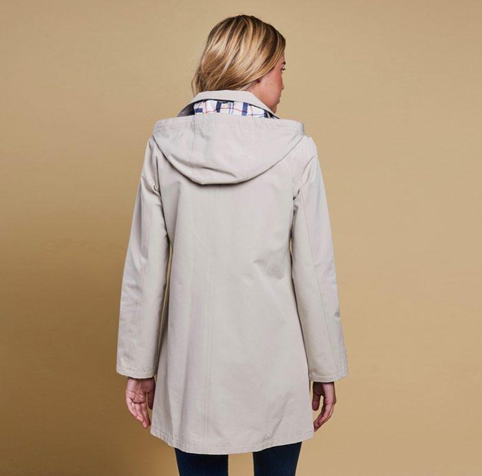 Barbour Gustnado Jacket in Mist Color