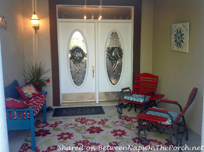 Beautiful Front Porch Design and Makeover