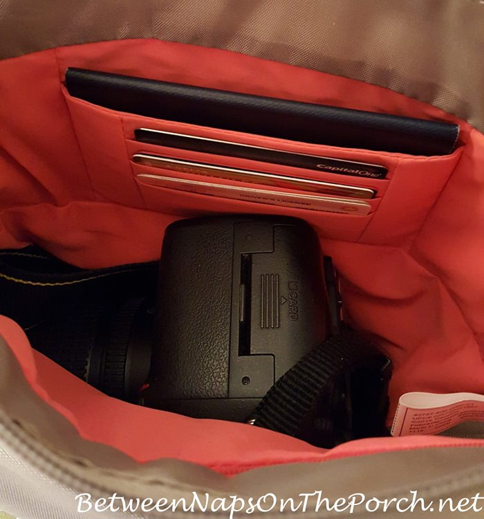 Best Travel Handbag, Holds Camera