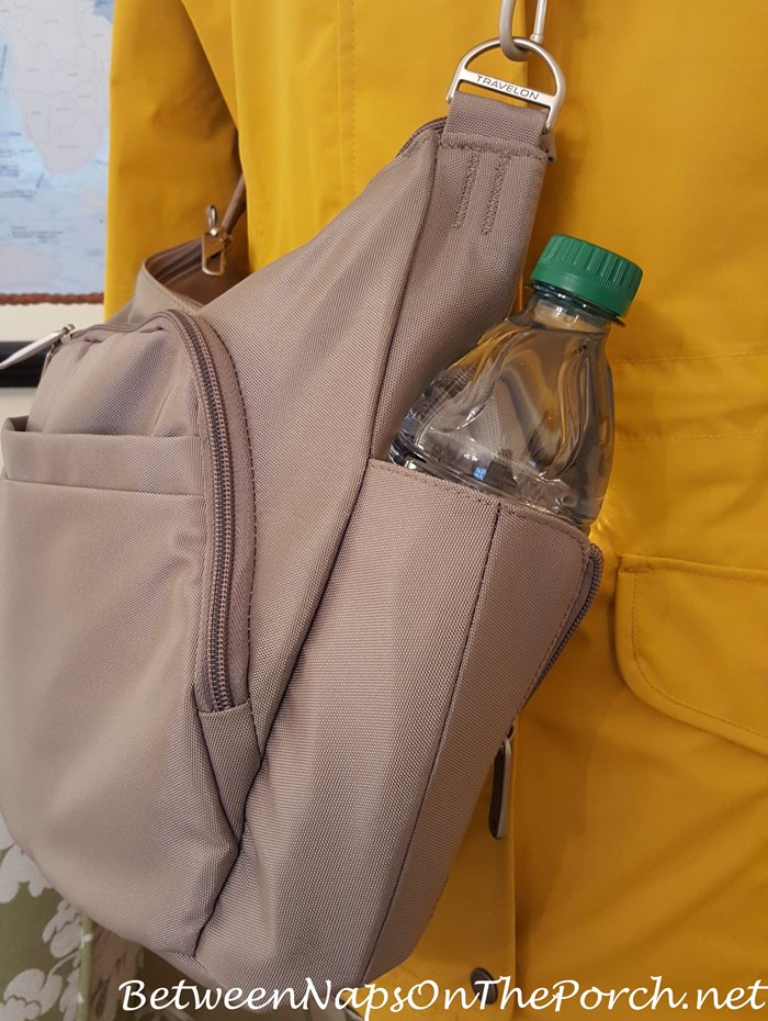 Best Travelon Anti-Theft Cross-Body Bag, Holds Water Bottle