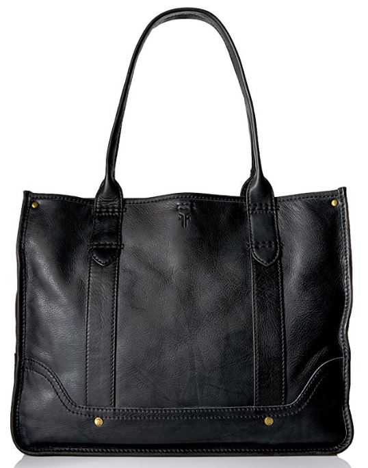 Frye Campus Shopper in Black
