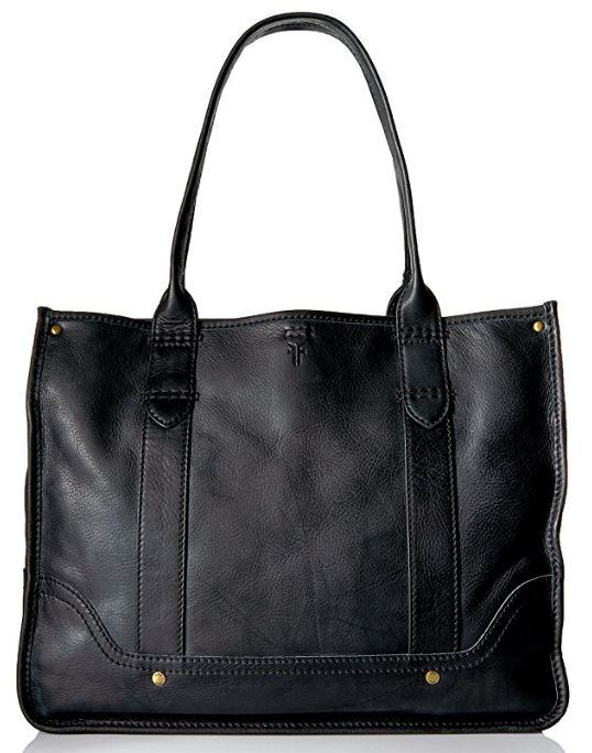 Frye Campus Shopper in Black