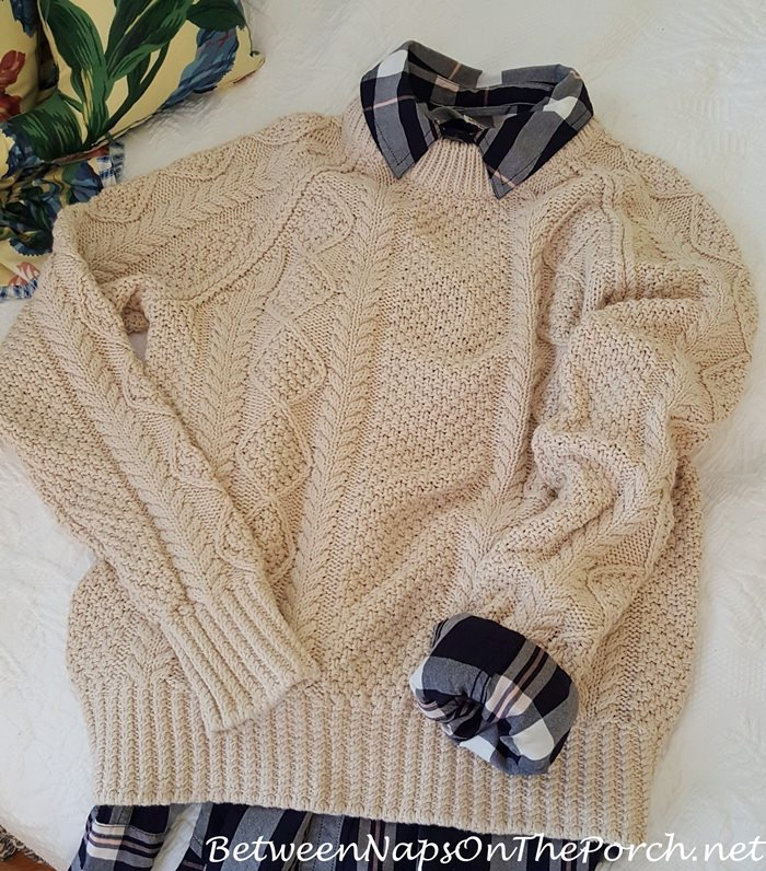 Cotton Fisherman Sweater