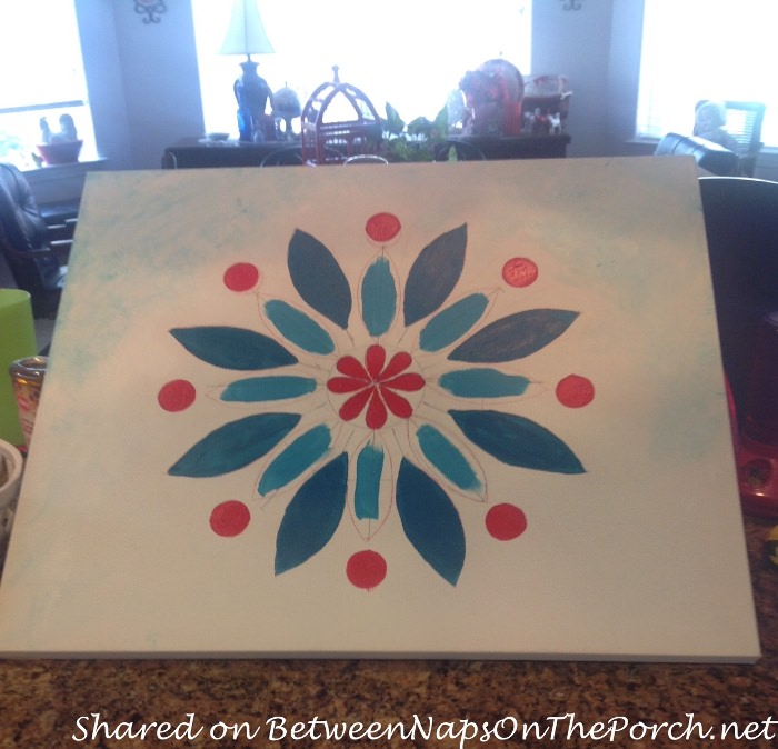 Designing and Painting an Outdoor Painting for Porch