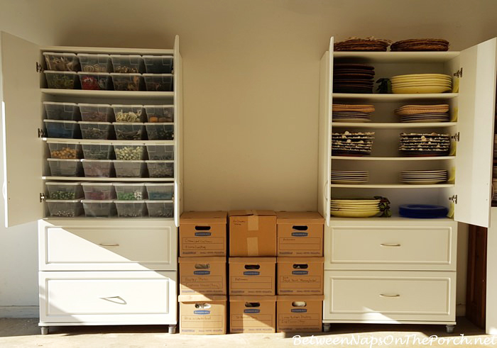 Flatware, Napkin Ring, Napkin, Charger Plate Storage and Organization