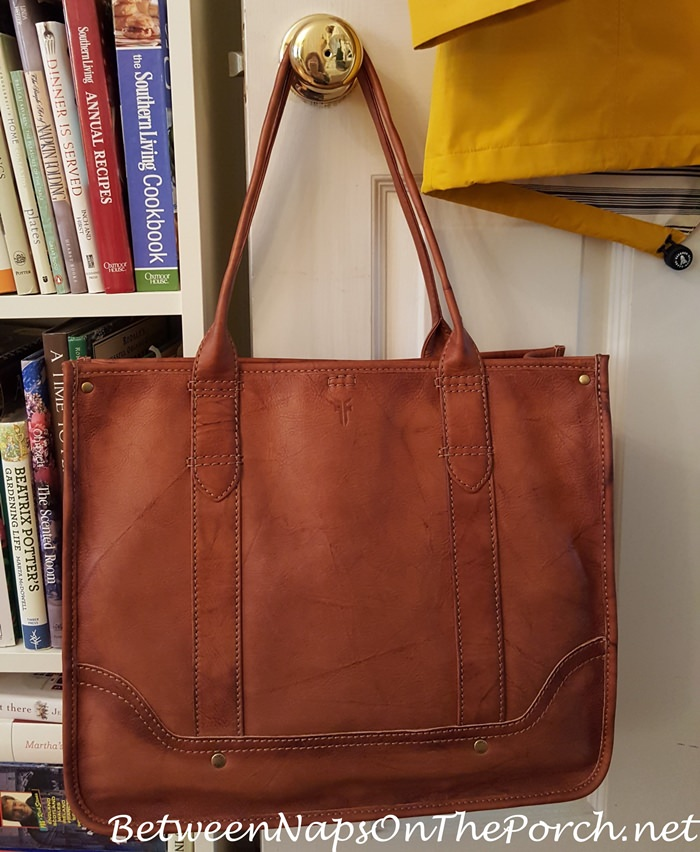 Frye Campus Leather Shopper Tote Bag