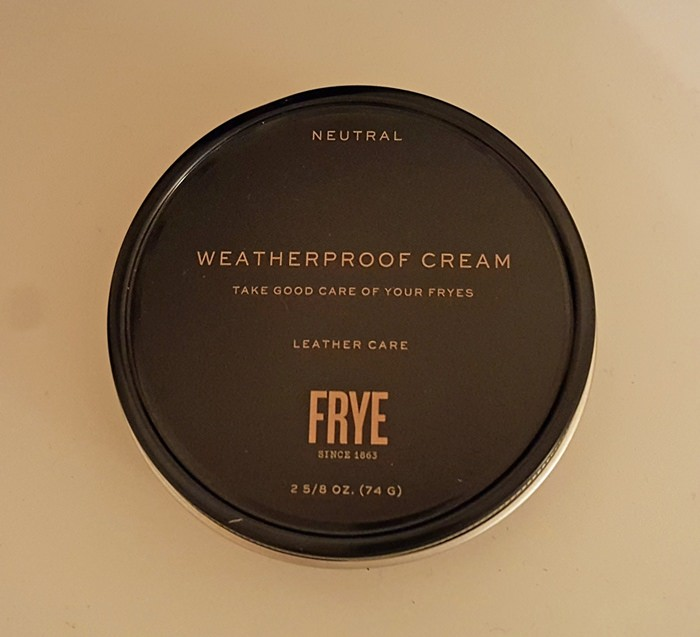 Frye Weatherproof Cream for Leather