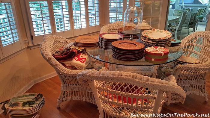 Dish Organizing