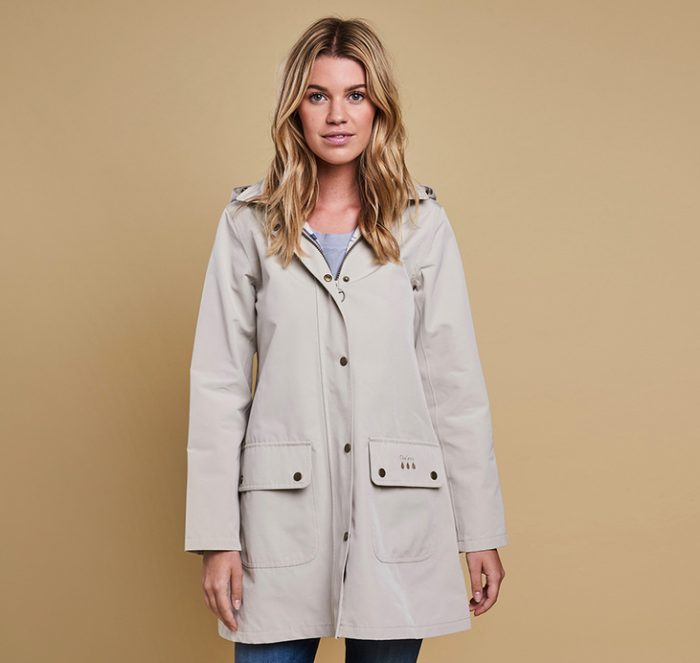 Barbour Gustnado Coat, Mist