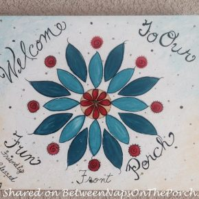 Handpainted Art for Porch