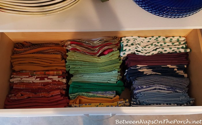 Ideas for Napkin Storage