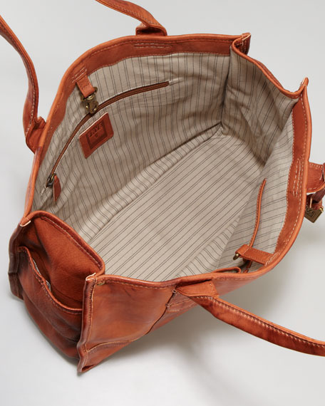 Interior of Frye Shopper Bag