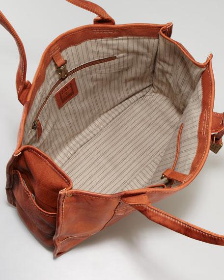 Interior of Frye Shopper Bag