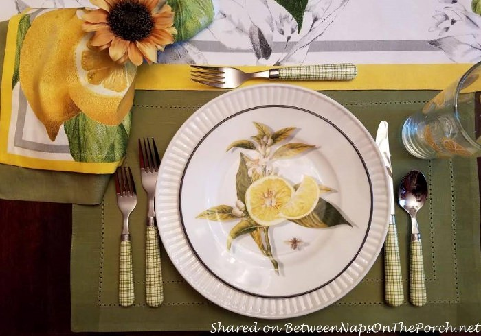 Lemon Salad Plates