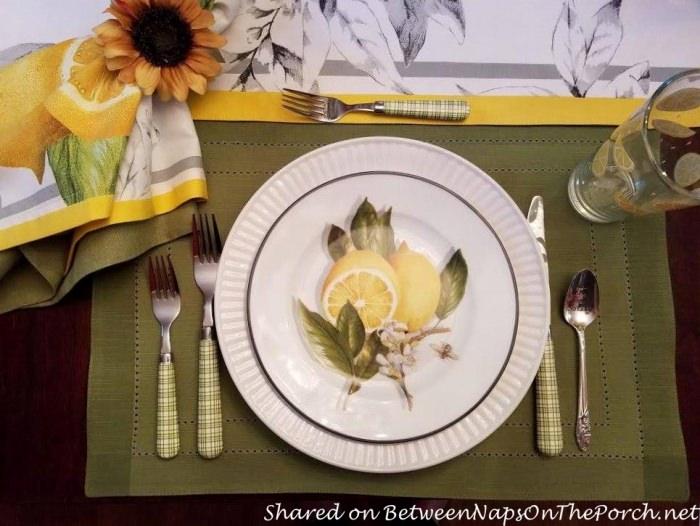 Meyer Lemon Plates