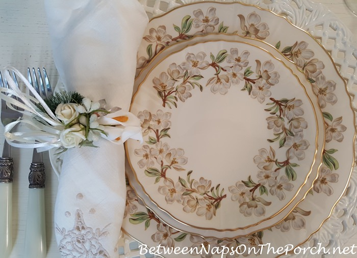 Orchard, Made in USA by Syracuse China Company