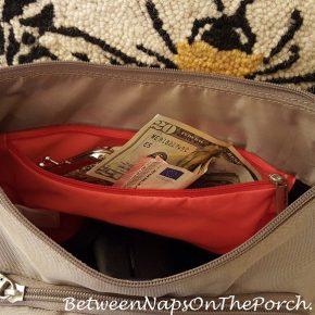 Travel Handbag, Anti-Theft Cross-Body Bag