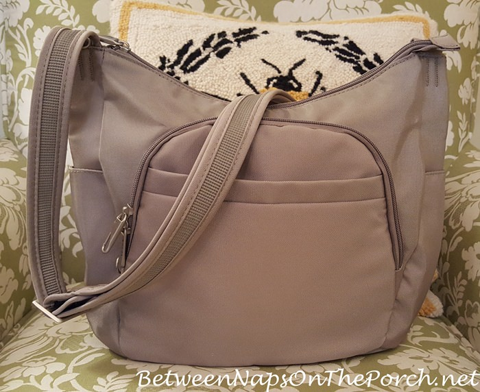 Travelon Anti-Theft Cross-Body Bag for Travel