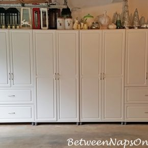 Attractive Cabinet Storage for Garage, Home, Basement