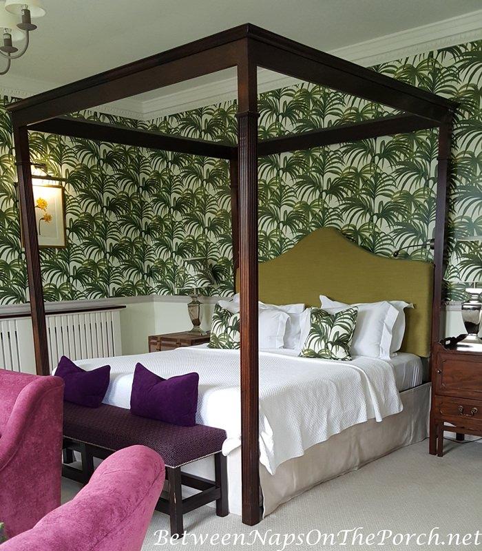 Ballynahinch Castle Beautiful Bedroom