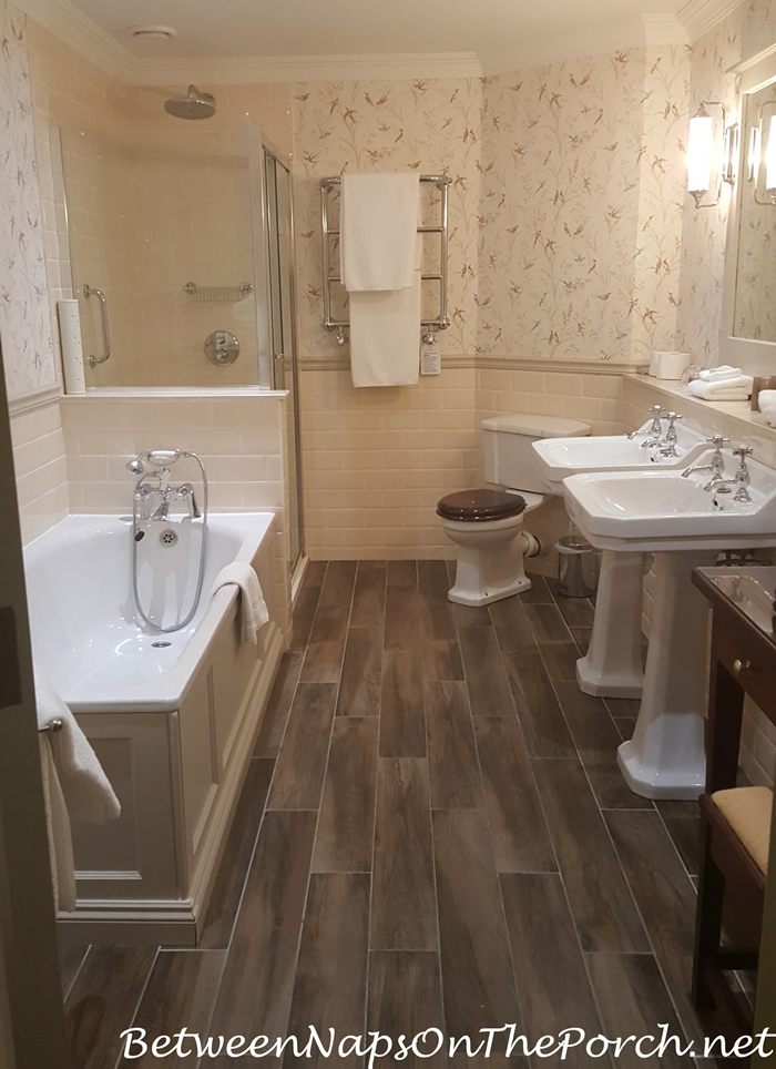 Bathroom, Ballynahinch Castle, Ireland