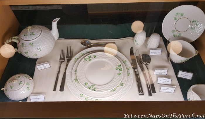 Belleek-Pottery-Classic-Place-Setting.jpg & A Shopping Trip Inside the Belleek Pottery Factory Store