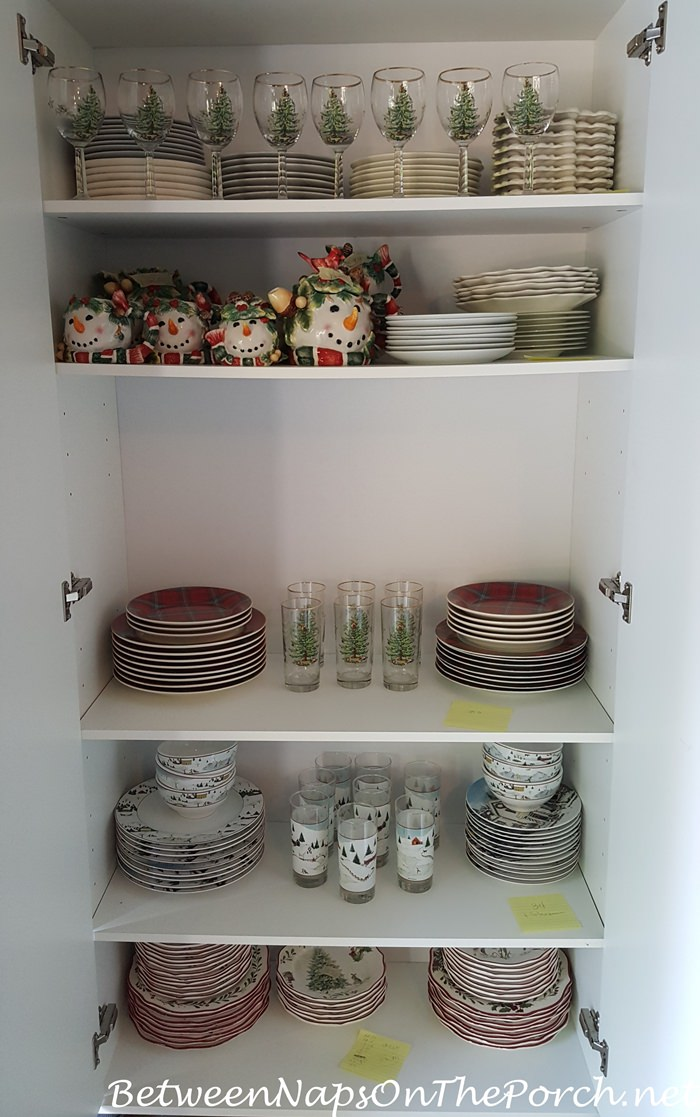 Dish Storage, Organization Ideas