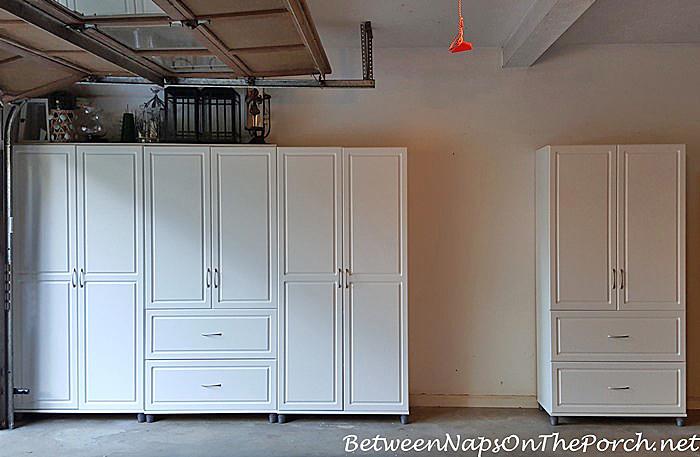 Garage Cabinet Storage, Organization Ideas