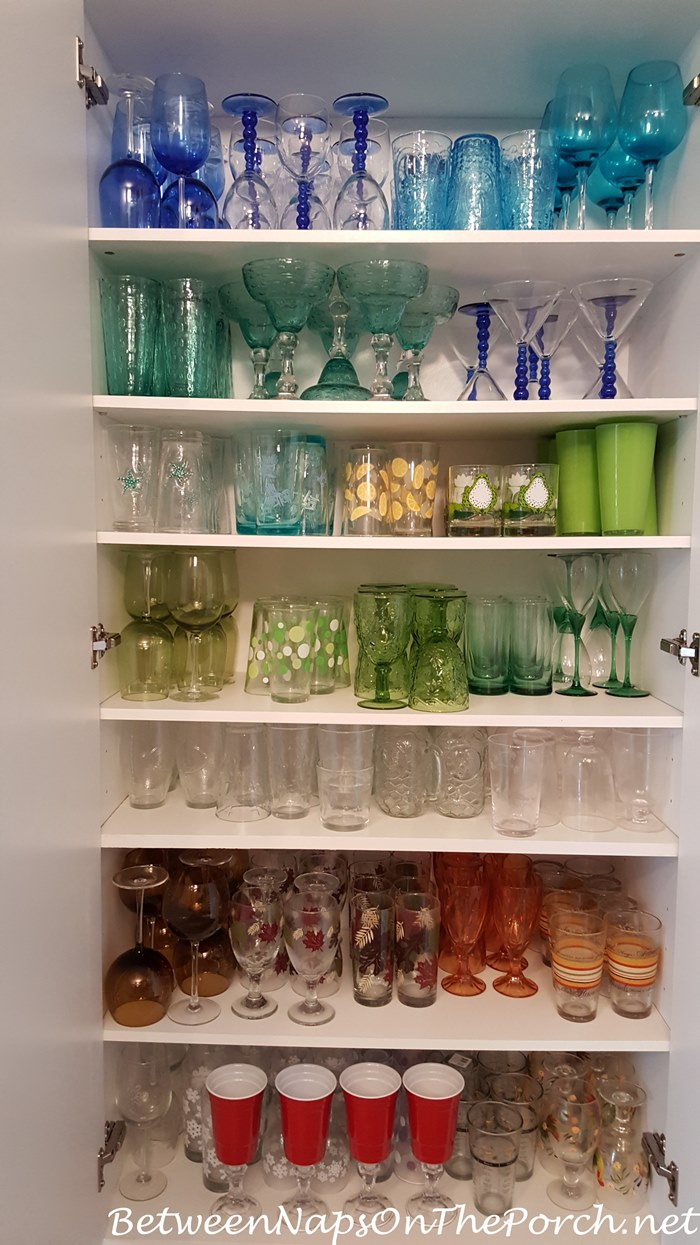 Glassware Collection for Table Setting, Tablescaping